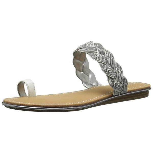 Carlos by Carlo Santana Womens Finnegan Open Toe Casual Slide Sandals