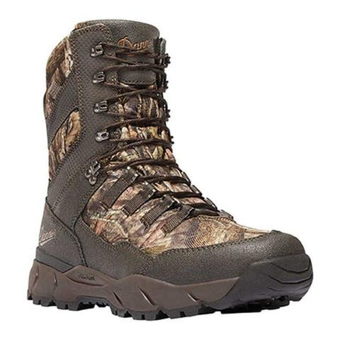 """Danner Men's Vital 8"""" 1200G Insulated Hunting Boot Mossy Oak Break-Up Country Leather/Textile"""