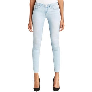 Elie Tahari Womens Bridgette Pencil Jeans Mid-Rise Skinny Fit