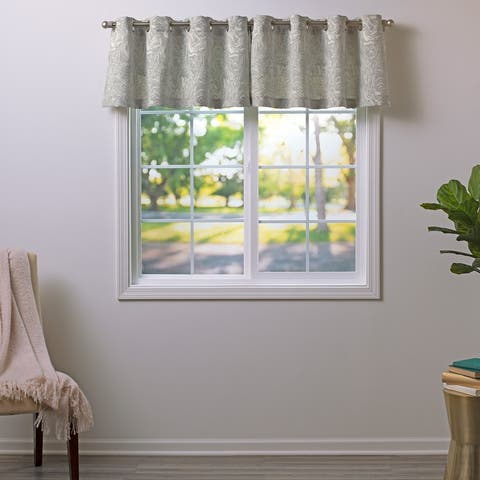 Tranquil Escape Pattern Valance