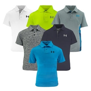 Under Armour Boys' Mystery Polo Shirts 2-Pack - Assorted