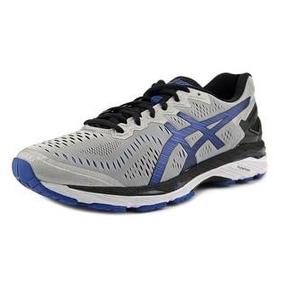 Asics Gel Kayano 23  Men  Round Toe Synthetic Silver Running Shoe