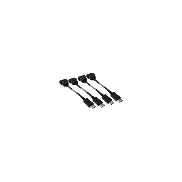 PNY Technologies DP-VGA-QUADKIT-PB PNY DP-VGA-QUADKIT-PB DisplayPort to VGA Cable Adapter - 4 Pack - DisplayPort Male Digital