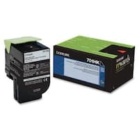 Lexmark 70C1HK0B Lexmark 70C1HK0 Black High Yield Return Program Toner