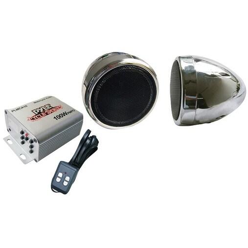 Pyle Motorcyle audio speaker package