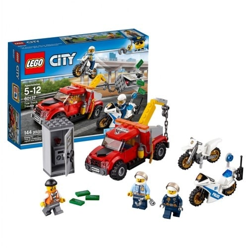 Shop Lego City Tow Truck Trouble 60137 Free Shipping