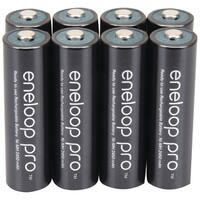 Panasonic Bk-3Hcca8Ba Eneloop(R) Xx Batteries (Aa; 8 Pk)