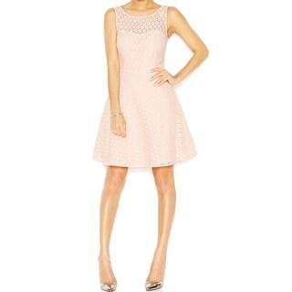 Betsey Johnson NEW Women's Size 12 Light Pink Lace A-Line Sheath Dress
