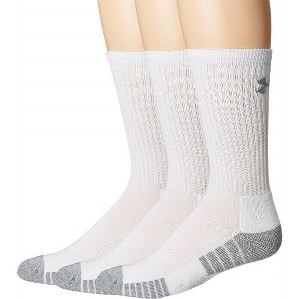 3-Pairs Under Armour Youth Heatgear Tech Crew Socks