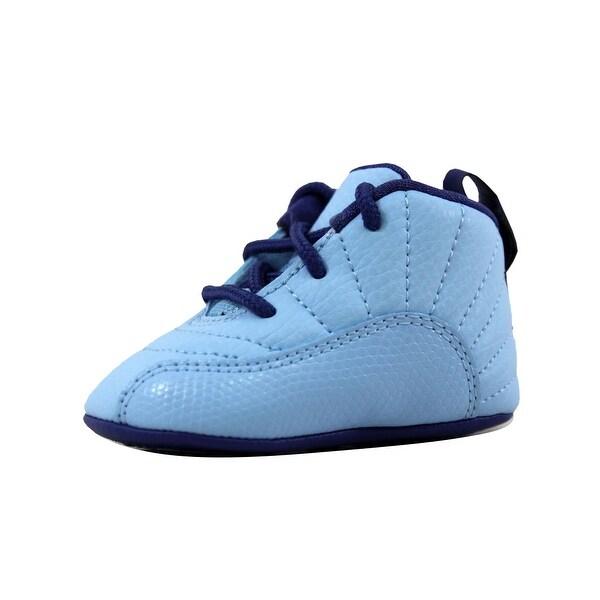 cf7243293ee Nike Toddler Air Jordan XII 12 Retro Gift Pack Blue Cap/Metallic Silver-Dark