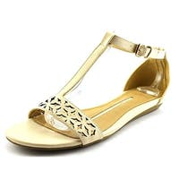 New Directions Womens Happy Open Toe Casual Ankle Strap Sandals - 6.5