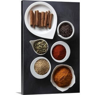 """Ayurvedic Winter Warming Spices"" Canvas Wall Art"