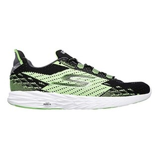 Skechers Men's GOrun 5 Running Shoe,Black/Green,US 8 M - Black/Green