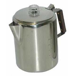 Chinook Timberline Stainless Steel Coffee Percolator, 12 Cup/2832mL
