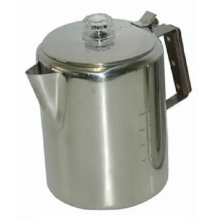 Chinook Timberline Stainless Steel Coffee Percolator, 6 Cup/1420 mL
