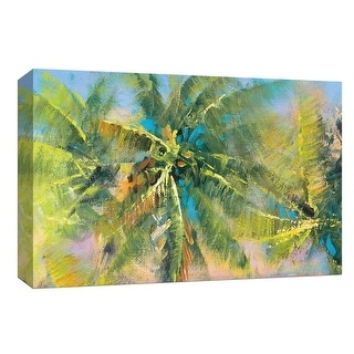 """PTM Images 9-148370  PTM Canvas Collection 8"""" x 10"""" - """"Palm Collage"""" Giclee Trees Art Print on Canvas"""