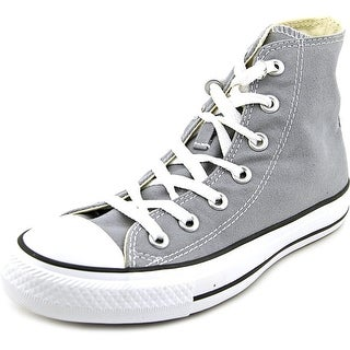 Converse Chuck Taylor All Star Print HI Women Round Toe Canvas Gray Sneakers