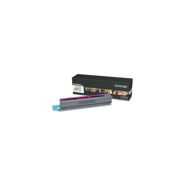 Lexmark C925H2MG Lexmark C925H2MG High Yield Toner Cartridge - Magenta - Laser - 7500 Page - 1 Each