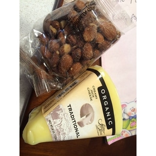 Artisanal Cheese and Fruit Basket