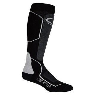 Icebreaker 2015/16 Women's Ski+ Medium OTC Socks - IBN721 - black/oil/silver