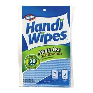 Clorox 12587 Multi-Use Resuable Cloth Handi Wipes, 6 Count