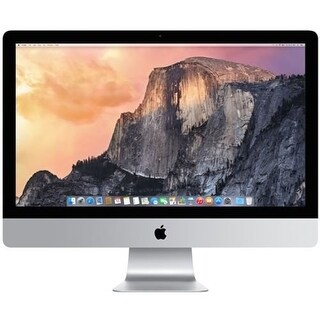 Apple 27 inch iMac 3.4GHz Quad-Core Intel Core i5 1TB Fusion Drive macOS 10.12, Sierra (Certified Refurbished)