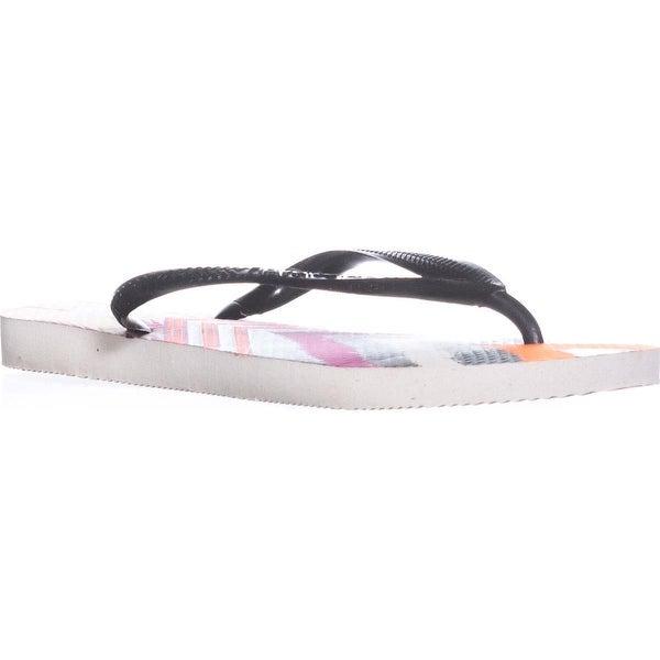 2c16343138d31 Shop Havaianas Slim Tribal Flip Flops
