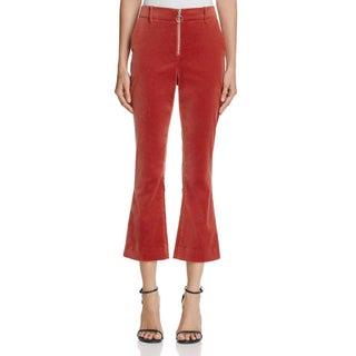 Frame Womens Trouser Pants Velvet Flare