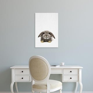 Easy Art Prints Tai Prints's 'Rabbit II' Premium Canvas Art