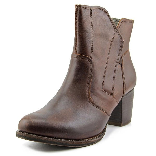 Caterpillar Alora WP Women Round Toe Leather Brown Boot