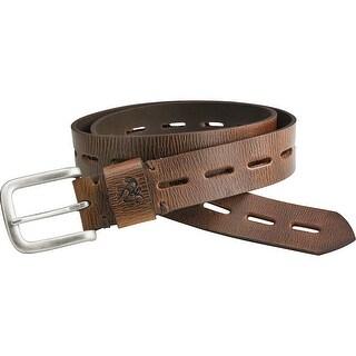 Legendary Whitetails Men's Redwood Vintage Leather Belt