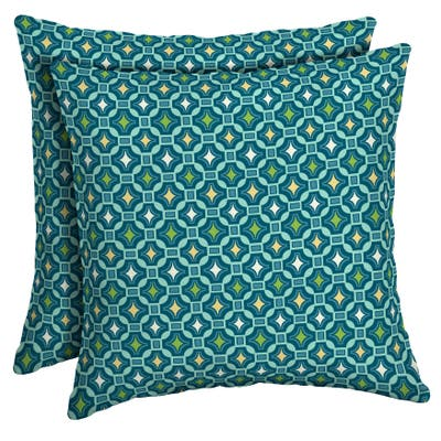 Arden Selections Alana Tile Throw Pillow, 2 pack - 16 in L x 16 in W x 5 in H