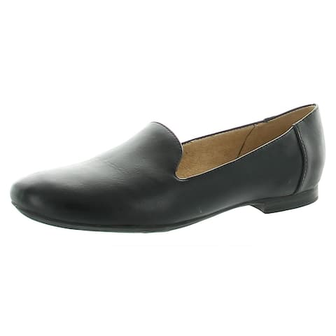Naturalizer Womens Kit Loafers Faux Leather Slip On