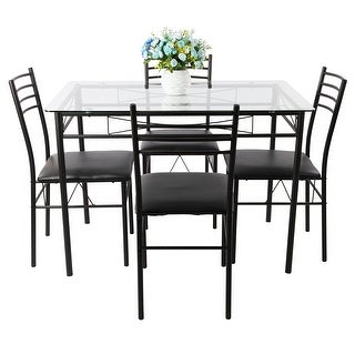 Glass Dining Room Tables   Shop The Best Deals For Sep 2017   Overstock.com