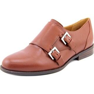 Nine West Toastie Round Toe Leather Loafer