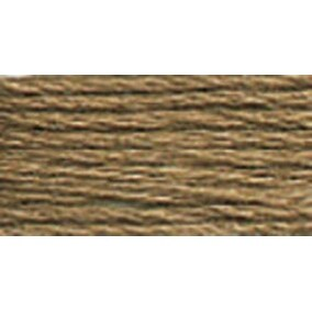 Taupe Dark - Anchor 6-Strand Embroidery Floss 8.75Yd (12/Pack)
