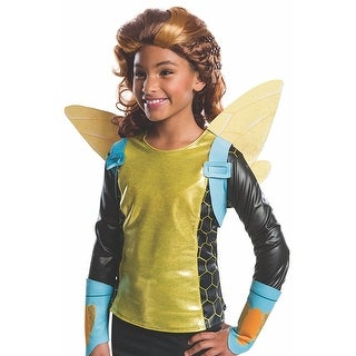 DC Super Hero Girls Bumblebee Costume Wig Child One Size