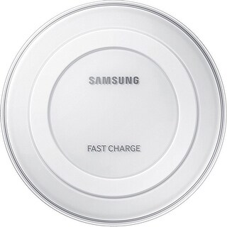 Samsung Wireless Charging Pad with 2A Wall Charger- White