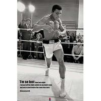 ''Muhammad Ali: I'm So Fast'' by Anon Celebrities Art Print (36 x 24 in.)