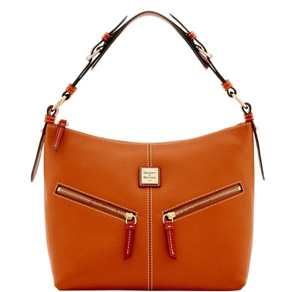 Dooney & Bourke Pebble Grain Mary (Introduced by Dooney & Bourke at $268 in Jun 2016) - Caramel