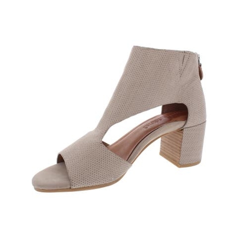 Gentle Souls by Kenneth Cole Womens Charlene 2 Booties Leather Ankle