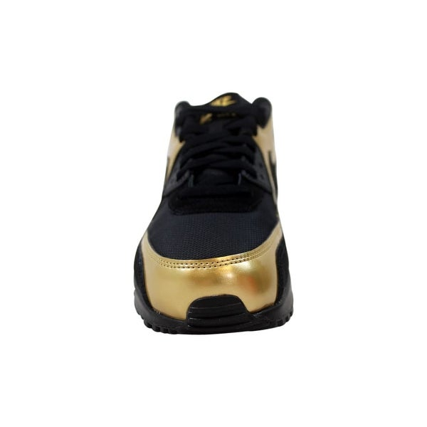 Nike Air Max 90 Essential BlackMetallic Silver Red 537384