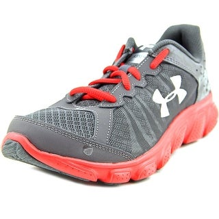 Under Armour UA Spine Disrupt Men Round Toe Leather Running Shoe