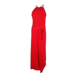 Lauren Ralph Lauren Women's Keyhole Jersey Jumpsuit - s