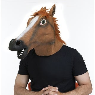 Wild Horse Animal Halloween Costume Mask
