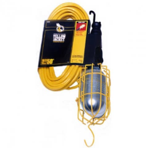 Yellow Jacket 2948 Work Light with 50' Cord, 13 Amp