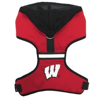 University of Wisconsin Dog Hoodie Harness (2 options available)