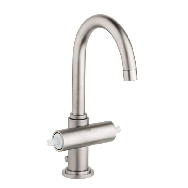 Grohe 21 027 A Atrio 1.2 GPM Single Hole Bathroom Faucet with SilkMove and WaterCare Technologies