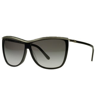 Chloe CE606/S 001 Black Rectangular Sunglasses - 61-11-135