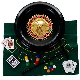 Trademark M340027 16 in. Roulette Set with Accessories
